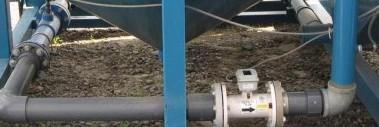 Inline Magnetic Flow Meter