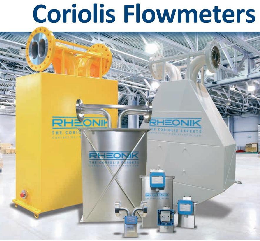 Coriolis mass flow meter