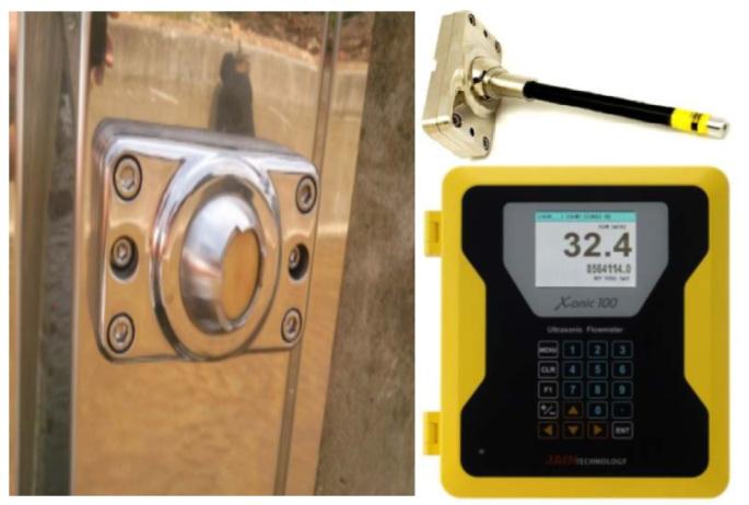open channel ultrasonic Flow Meter