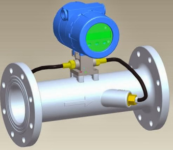Transit Time Ultrasonic Flow Meter
