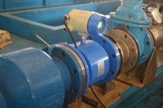 instalasi flow meter electromagnetic