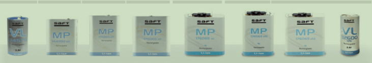 Saft rechargeable lithium-ion