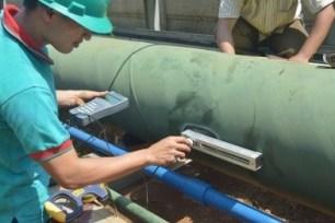 portble ultrasonic flow meter