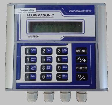 Spesifikasi Flowmasonic WUF 500 CF