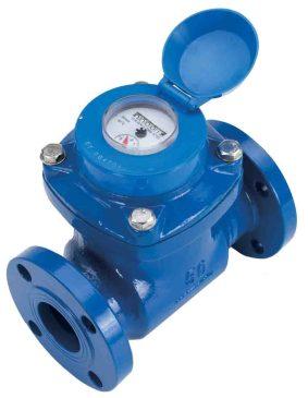 wj series cas iron turbine flow meter