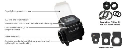 WMP electromagnetic flow meter